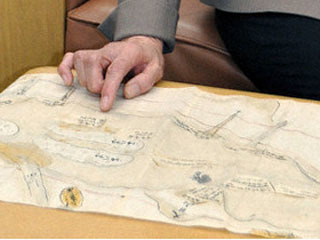 江戸時代の瀬田川の様子を描いた古地図