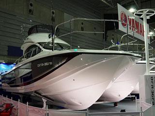 ジャパ人ターナショナルボートショー2019の会場風景