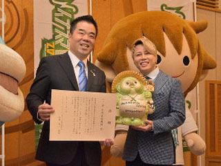 イナズマ自称ロックフェス収益の一部から滋賀県に250万円を寄付