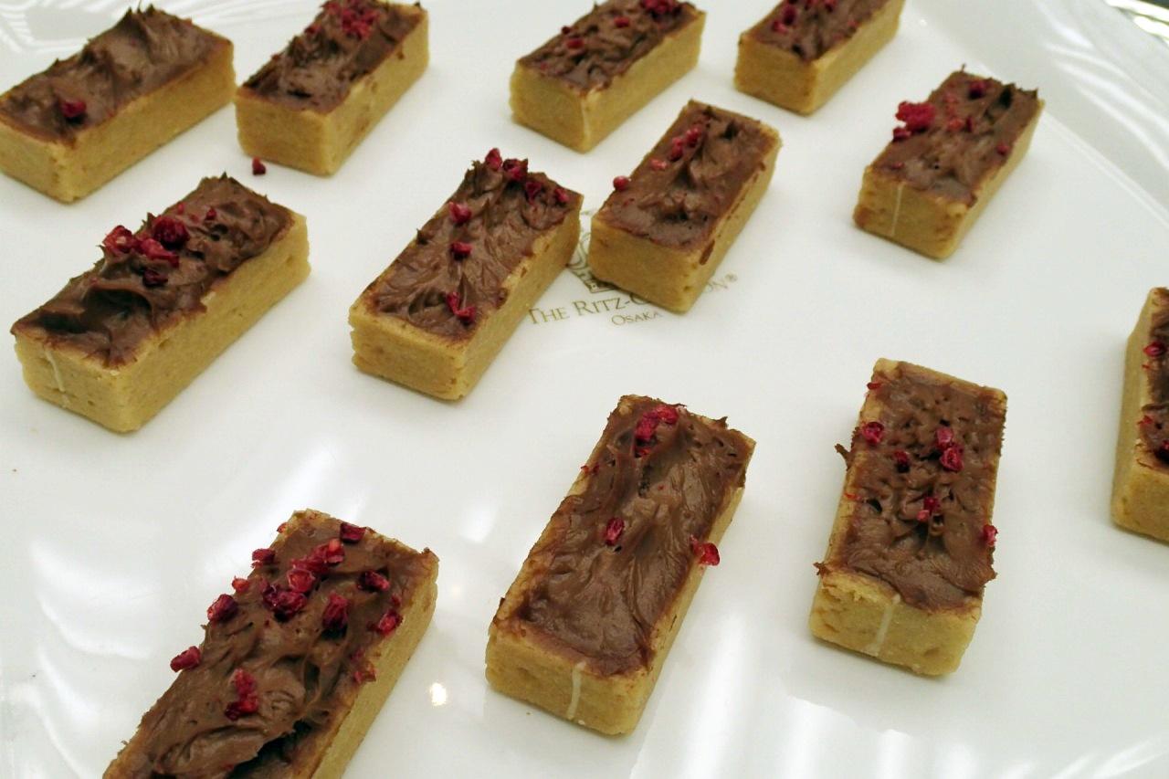 チョコレートバナナタルトレクタング