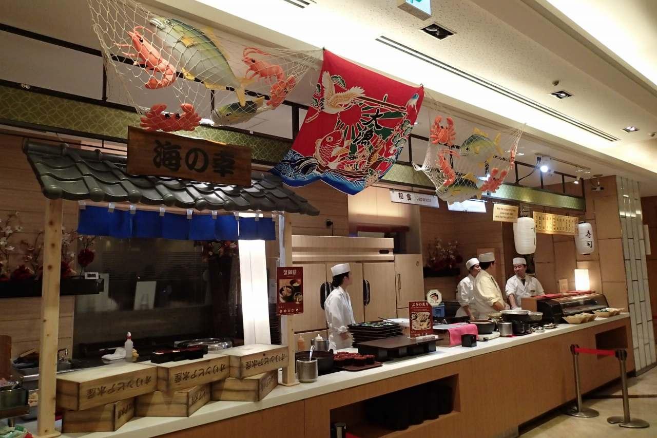 日本料理コーナー