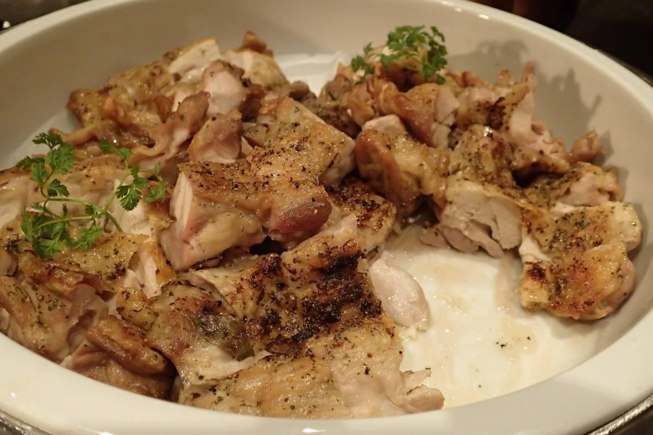 鶏肉のグリルハーブの香り