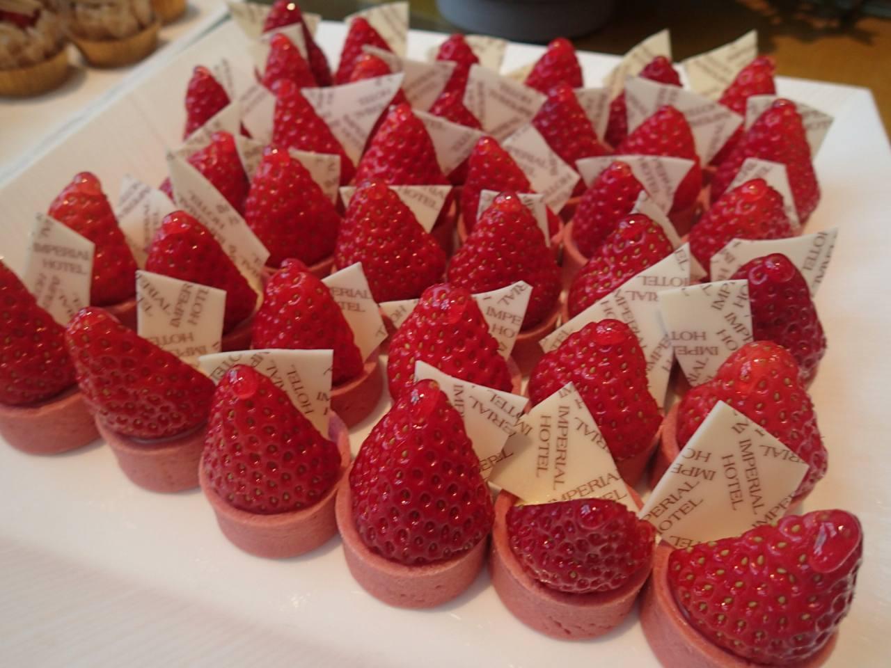 苺のタルトレット