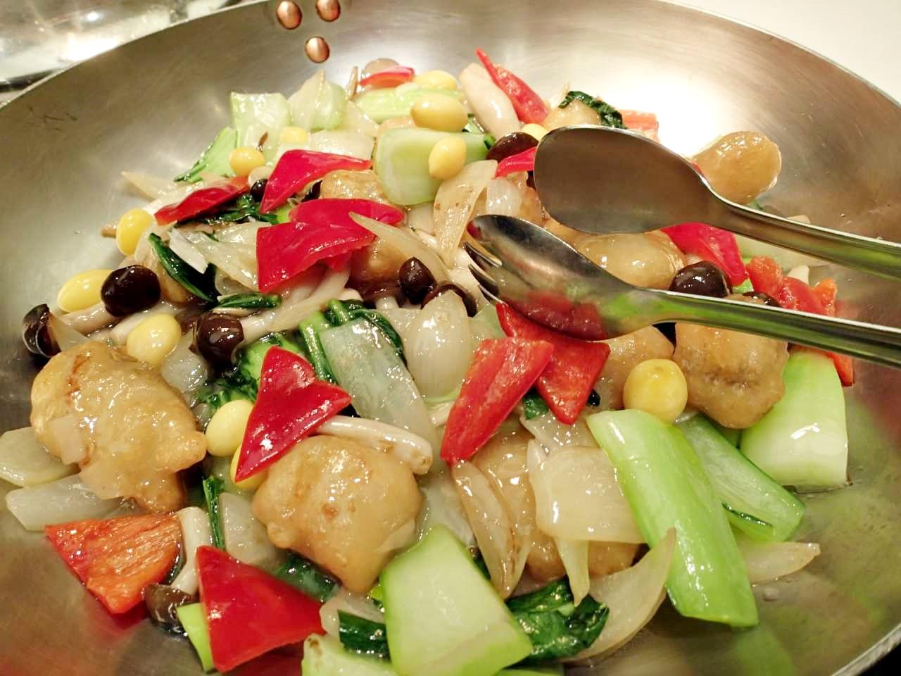 魚の塩味炒め