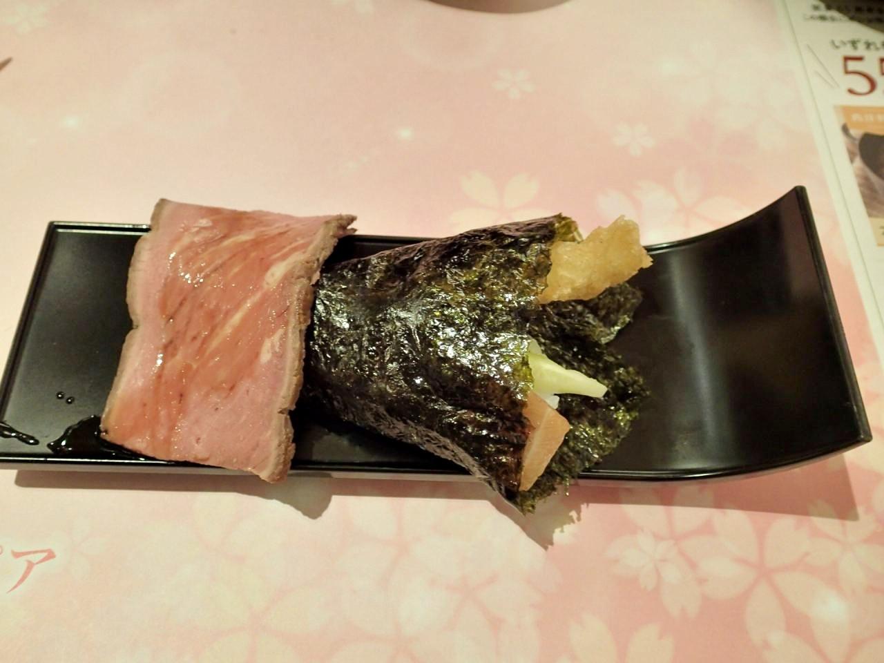 手巻き三寿ー司