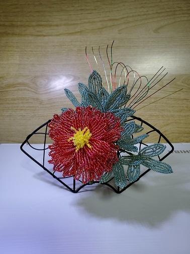 ミニ牡丹の飾り