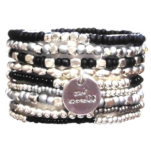 Black and Silver Coco set black silver (4)1