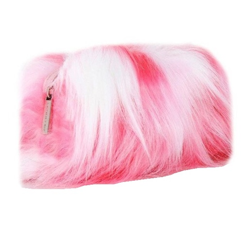 Pink Fluffy Make Up Bag (6)1111111