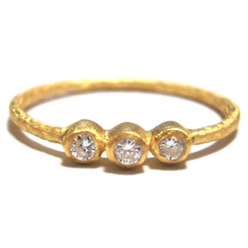 Abby triple ring yellow gold (4)1