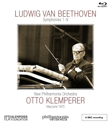 オットー・クレンペラー ベートーヴェン 交響曲全集【『激安5 Blu-ray Disc』】Otto Klemperer Beethven Symphonies 1-9