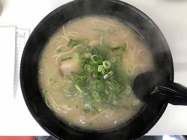 長浜ラーメン力徳永店@福岡市西区