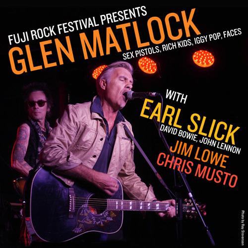 GlenMatlock_フジロックフェスティバル