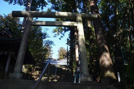 20200104稲田神社奥の院17