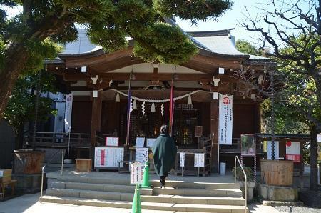 20200221鳩森八幡神社11
