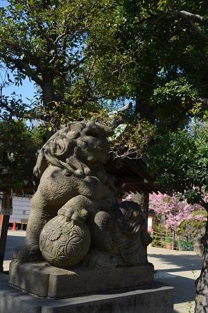 20200221鳩森八幡神社09