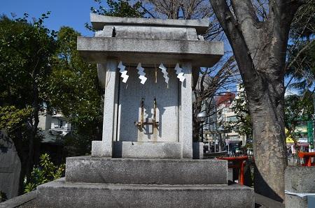 20200221鳩森八幡神社20