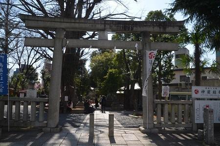 20200221鳩森八幡神社30