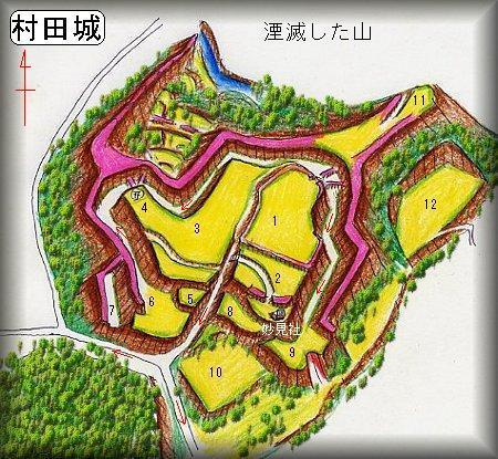 20200130村田城址縄張り図