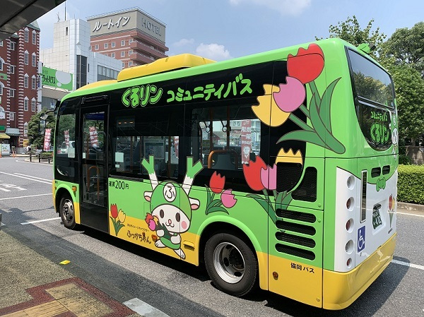 深谷市バス