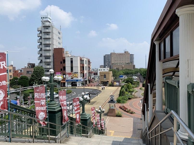 深谷駅(渋沢栄一旗