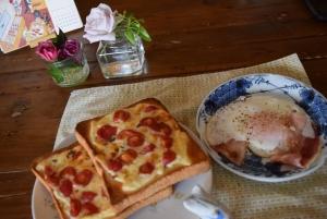 ミニトマト焼き