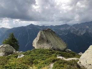 存在感のある岩