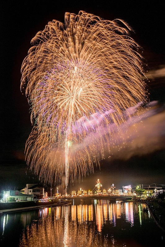 2019.07.20燈籠山祭りの花火 (7)