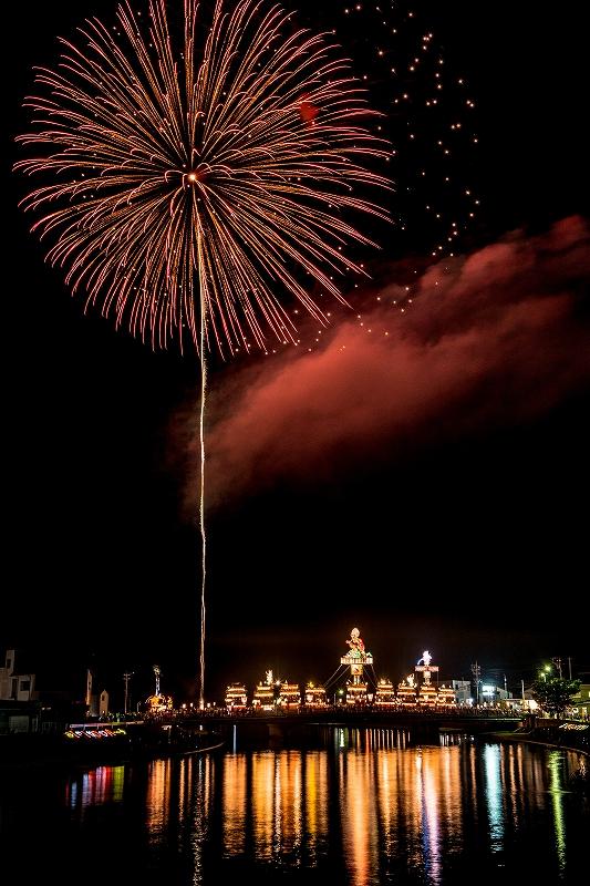 2019.07.20燈籠山祭りの花火 (9)