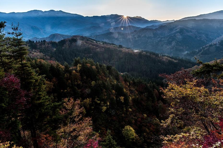2019.11.10西山から白山眺望 1 (4)