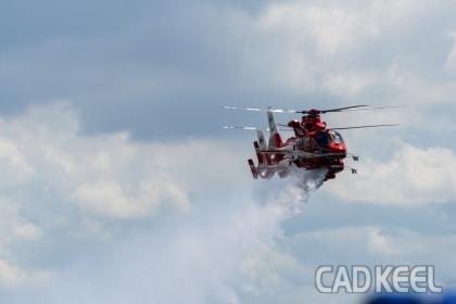 190907レッドブルエアレース2019千葉 千葉市消防航空隊ヘリ「おおとり」