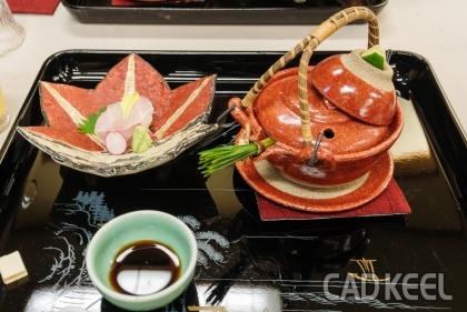 191015徳島・淡路島・岡山旅行 夕食 日本料理一扇