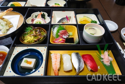 191016徳島・淡路島・岡山旅行 昼食 和久