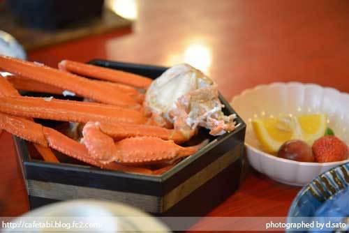島根県 松江市 美保関 福間館 夕食 和食 かに料理 海鮮 刺身 美味い 宿泊予約 03