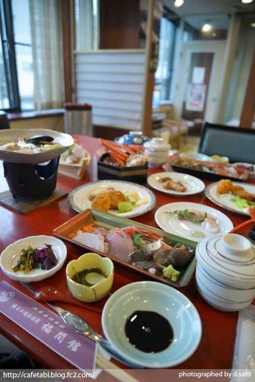 島根県 松江市 美保関 福間館 夕食 和食 かに料理 海鮮 刺身 美味い 宿泊予約 06