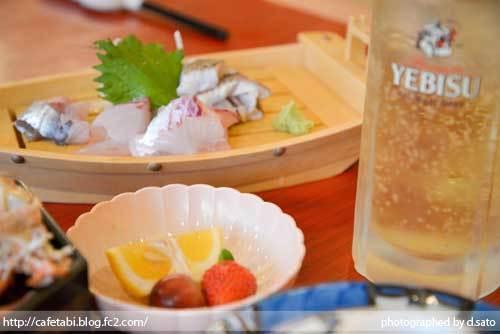 島根県 松江市 美保関 福間館 夕食 和食 かに料理 海鮮 刺身 美味い 宿泊予約 09