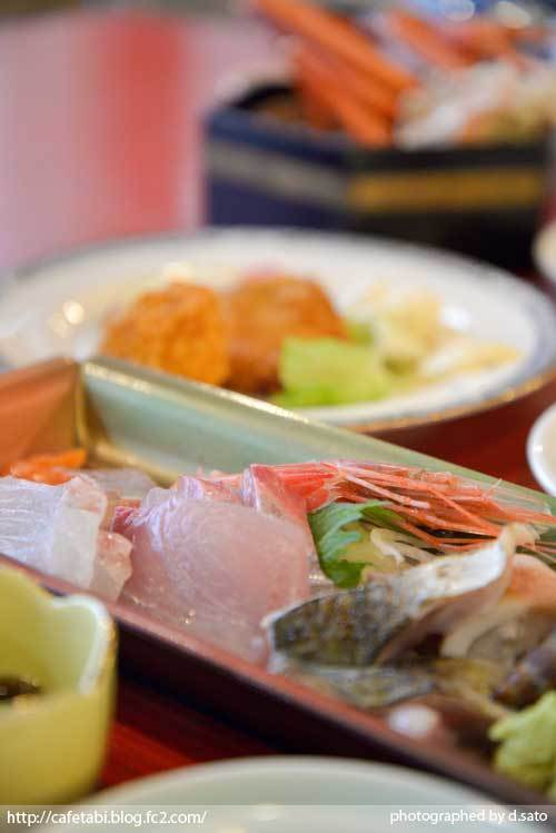 島根県 松江市 美保関 福間館 夕食 和食 かに料理 海鮮 刺身 美味い 宿泊予約 13