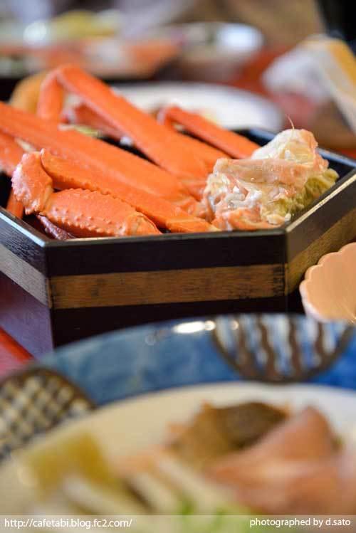 島根県 松江市 美保関 福間館 夕食 和食 かに料理 海鮮 刺身 美味い 宿泊予約 14