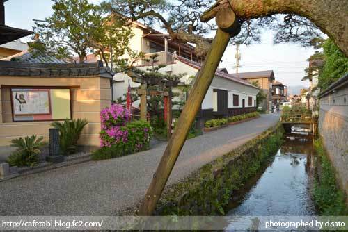 鳥取県 倉吉市 魚町 倉吉白壁土蔵群 城下町 レトロな町並みを街歩き 04