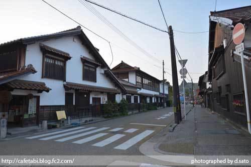 鳥取県 倉吉市 魚町 倉吉白壁土蔵群 城下町 レトロな町並みを街歩き 24