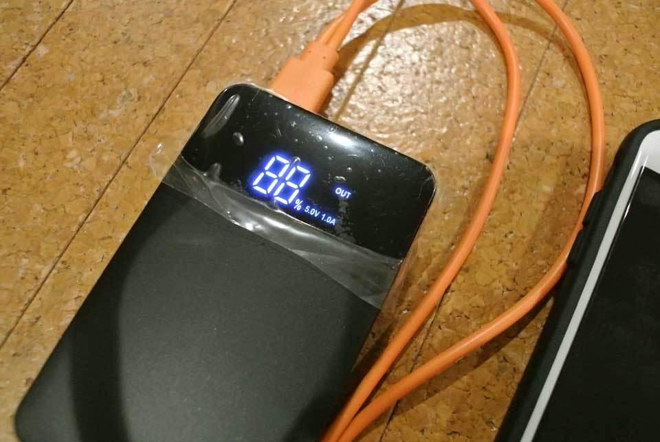 千葉長期停電時に役立つモバイルバッテリーで動く機器04