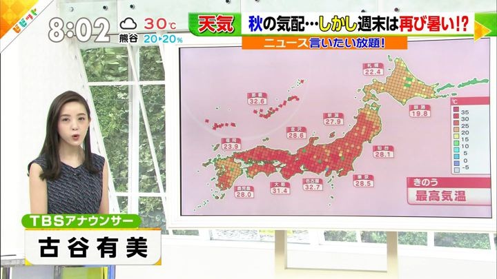 2019年08月27日古谷有美の画像01枚目