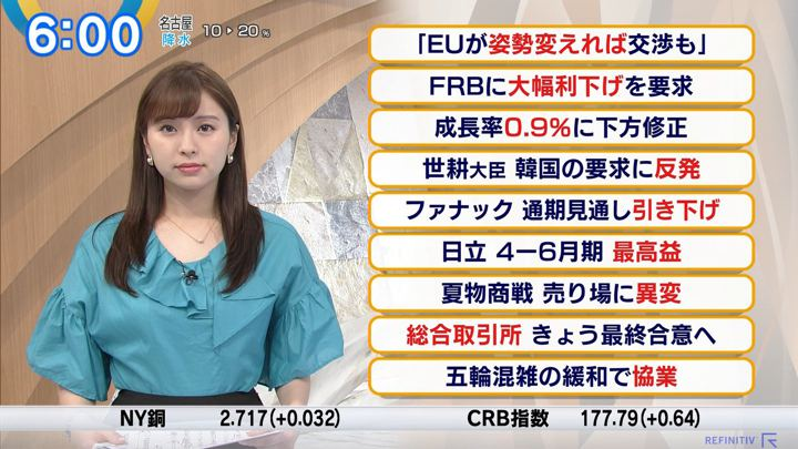 2019年07月30日角谷暁子の画像04枚目