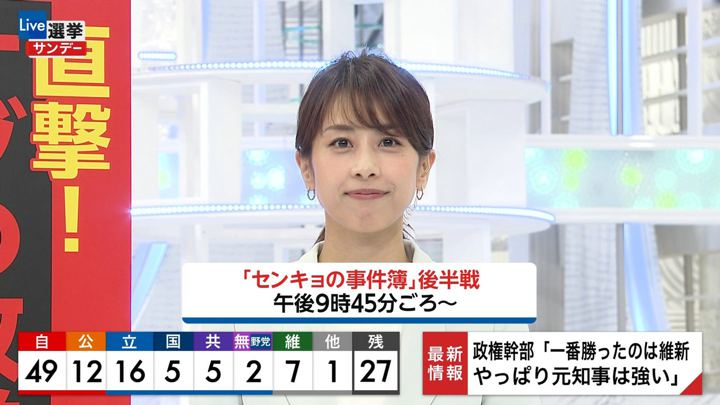 2019年07月21日加藤綾子の画像09枚目