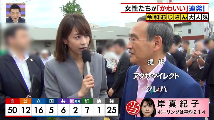 2019年07月21日加藤綾子の画像14枚目