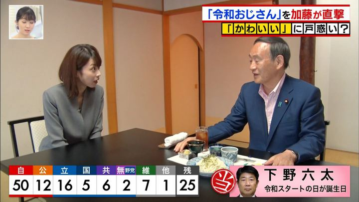 2019年07月21日加藤綾子の画像16枚目