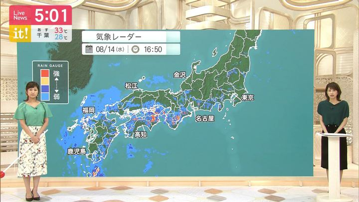2019年08月14日酒井千佳の画像01枚目
