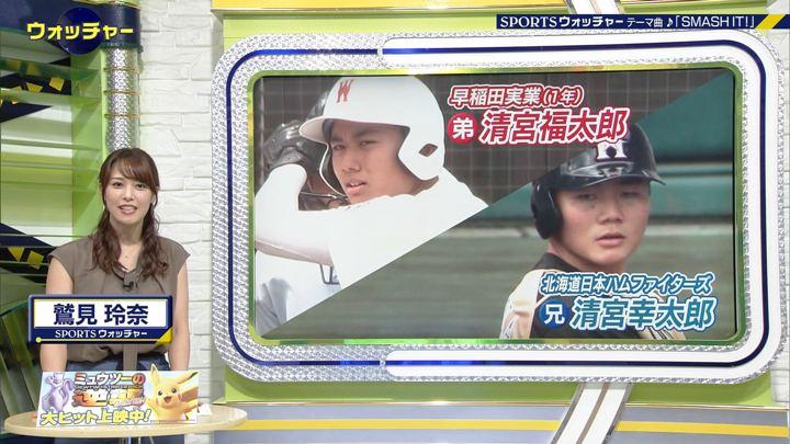 2019年07月17日鷲見玲奈の画像03枚目