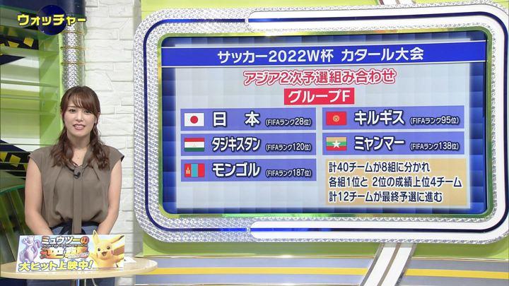 2019年07月17日鷲見玲奈の画像07枚目