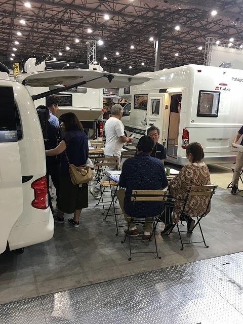 東京キャンピングカーショー2019②