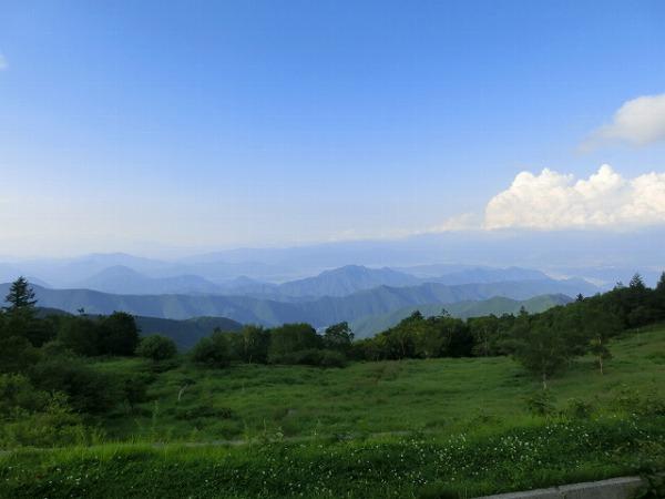 真夏の美ヶ原と霧ヶ峰 040